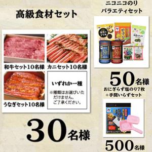高級食材(和牛・蟹・うなぎ)、商品セット